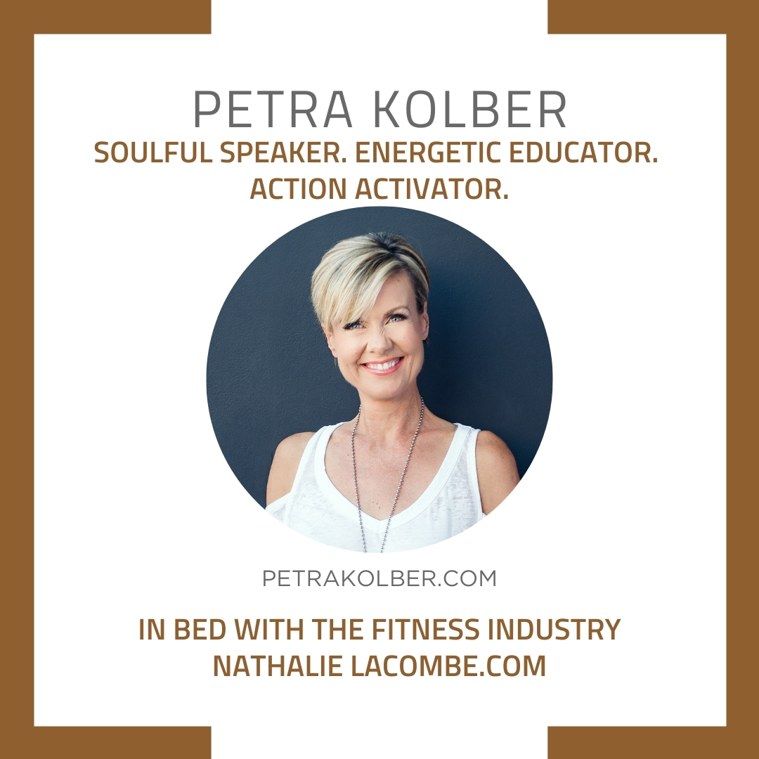 In Bed with the Fitness Industry & Petra Kolber