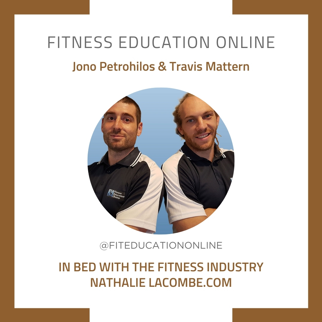 In Bed with the Fitness Industry & Fitness Education Online
