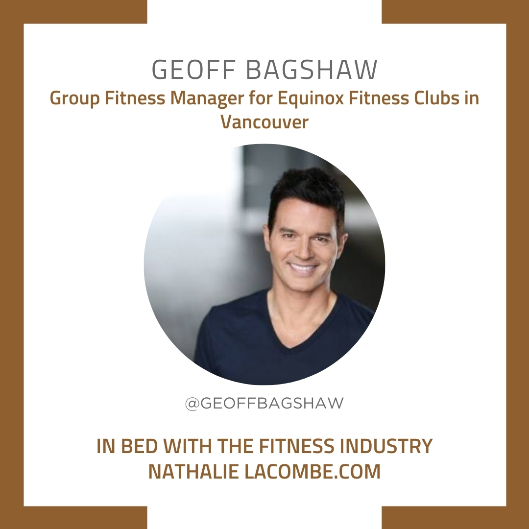 In Bed with the Fitness Industry & Geoff Bagshaw