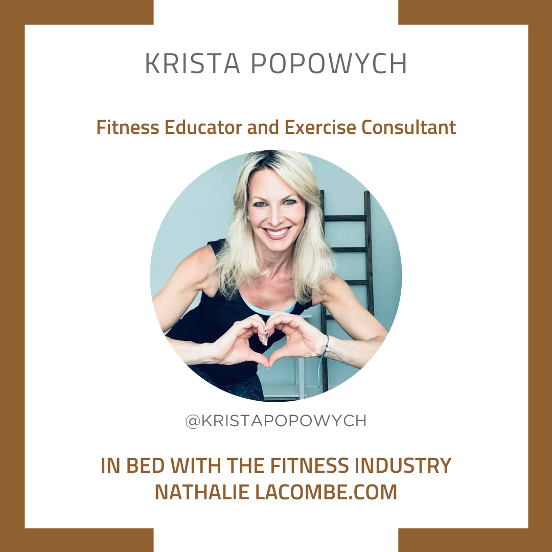 In Bed with Fitness Industry & Krista Popowych
