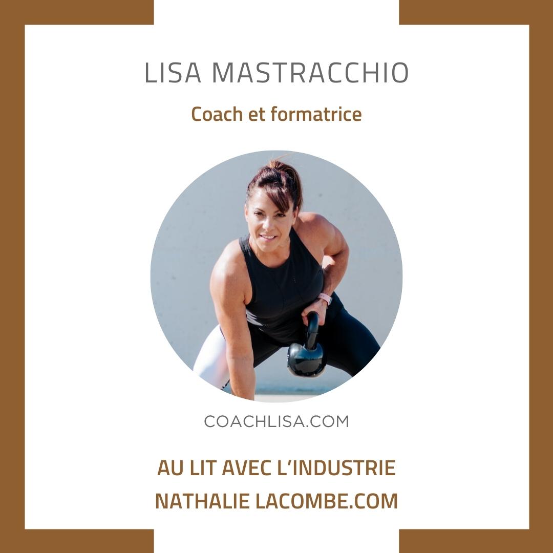 Au lit avec l'industrie et Lisa Mastracchio